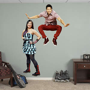 Mike and Tina Fathead Wall Decal