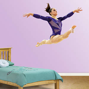 Jordyn Wieber Leap Fathead Wall Decal
