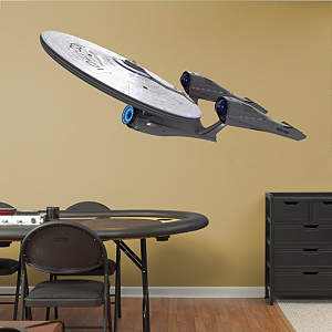 U.S.S. Enterprise NCC-1701: Star Trek - Into Darkness Fathead Wall Decal