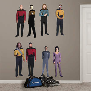 Star Trek: The Next Generation Collection Fathead Wall Decal