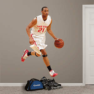 Evan Turner Ohio State Fathead Wall Decal