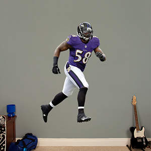 Elvis Dumervil Fathead Wall Decal