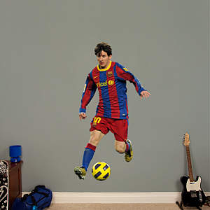 Lionel Messi Fathead Wall Decal