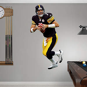Ben Roethlisberger Fathead Wall Decal