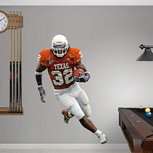 Cedric Benson Texas Fathead Wall Decal