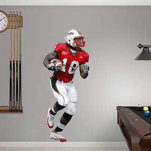 Vernon Davis Maryland Fathead Wall Decal
