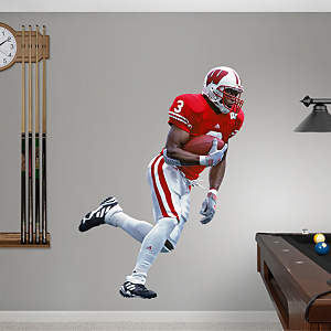 Lee Evans Wisconsin Fathead Wall Decal