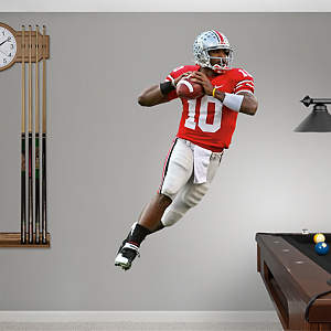 Troy Smith Ohio State Fathead Wall Decal