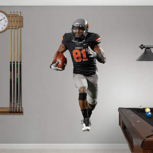 Justin Blackmon Oklahoma State  Fathead Wall Decal