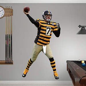Ben Roethlisberger - Throwback Fathead Wall Decal