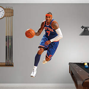 Carmelo Anthony Fathead Wall Decal
