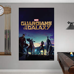 Guardians of the Galaxy - Movie Poster Mural Fathead Wall Decal