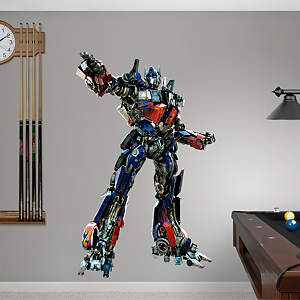 Optimus Prime - Dark of the Moon Fathead Wall Decal