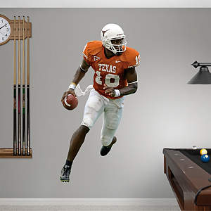 Vince Young Texas Fathead Wall Decal
