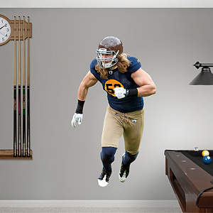 Clay Matthews Throwback Fathead Wall Decal