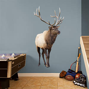 Elk Fathead Wall Decal