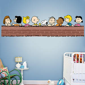Peanuts Gang Fathead Wall Decal