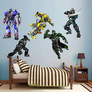 Transformers Age of Extinction Collection Wall Decal