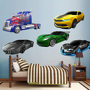 Transformers Age of Extinction Vehicle Collection Fathead Wall Decal