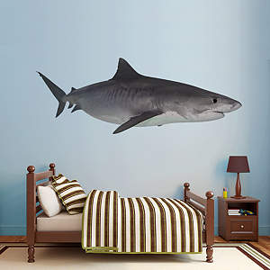 Tiger Shark Fathead Wall Decal