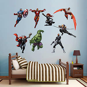 Avengers Assemble Fathead Wall Decals