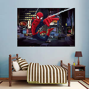Ultimate Spider-Man Mural Fathead Wall Decal