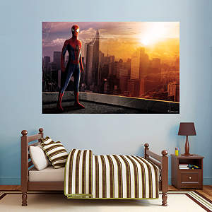 The Amazing Spider-Man 2 - Skyline Mural Fathead Wall Decal