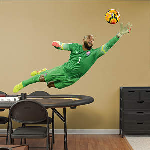 Wall Decal capturing an action shot of Tim Howard Saving the Ball