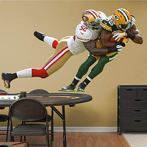 Patrick Willis Takes It On Fathead Wall Decal