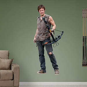 The Walking Dead's Daryl Dixon wall decal