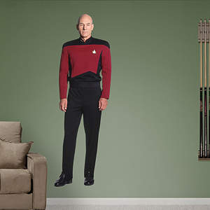 Captain Jean-Luc Picard Fathead Wall Decal