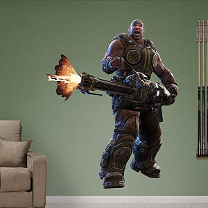 Gears of War 3: Cole Fathead Wall Decal