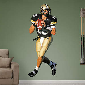 Drew Brees Purdue Fathead Wall Decal