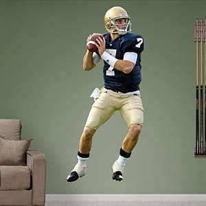 Jimmy Clausen Notre Dame Fathead Wall Decal