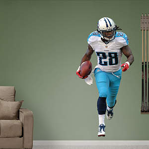 Chris Johnson - Away  Fathead Wall Decal