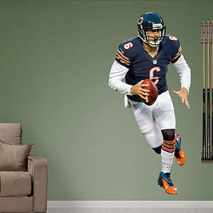 Jay Cutler - Running  Fathead Wall Decal