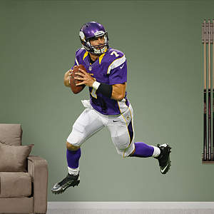 Christian Ponder - Home  Fathead Wall Decal