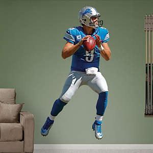 Matthew Stafford - Home Fathead Wall Decal