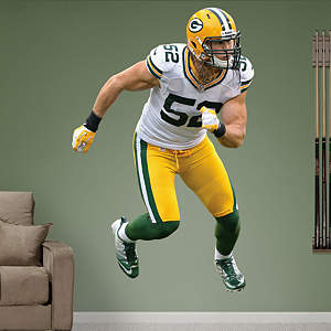 Clay Matthews - Away Fathead Wall Decal