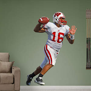 Russell Wilson Wisconsin Fathead Wall Decal