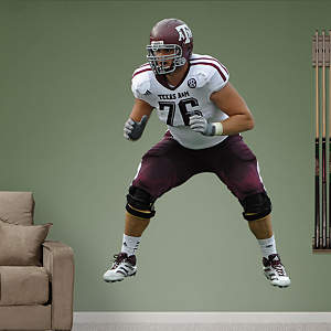 Luke Joeckel Texas A&M Fathead Wall Decal