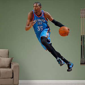 Wall decal of Kevin Durant from Fathead
