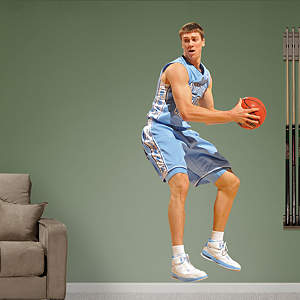Tyler Hansbrough North Carolina Fathead Wall Decal