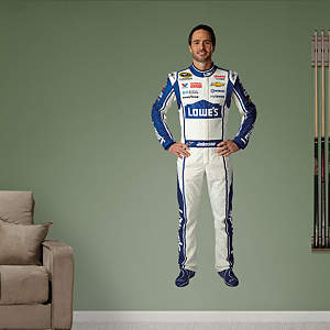 Jimmie Johnson Lowe's Driver Fathead Wall Decal