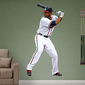 Jason Heyward Fathead Wall Decal