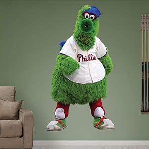 Philadelphia Phillies Mascot - Phillie Phanatic Fathead Wall Decal
