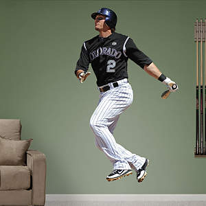 Troy Tulowitzki - At Bat Fathead Wall Decal