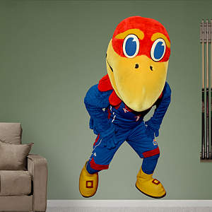 Kansas Jayhawks Mascot - Big Jay Fathead Wall Decal