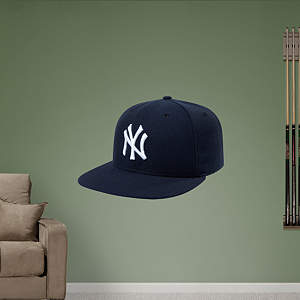 New York Yankees Cap Fathead Wall Decal