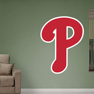 Philadelphia Phillies Alternate Logo Fathead Wall Decal